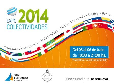 Expo Colectividades 2014 en San Fernando