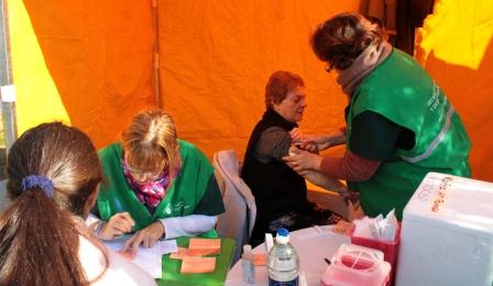 El Municipio de Vicente López lleva a cabo una campaña de vacunación antigripal gratuita