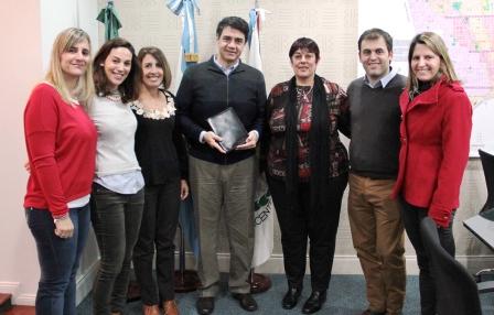 El Municipio de Vicente López y la ONG La Usina firmaron un convenio de intercambio y cooperación
