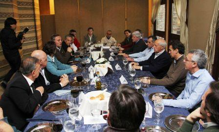 Con eje en economía, Lavagna y una decena de intendentes del Frente Renovador se reunieron en San Miguel