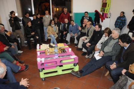 Comerciantes de Martínez se reunieron con Carlos Castellano para posicionar el paseo comercial de la calle Edison