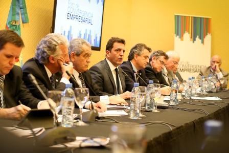 El diputado participó, acompañado por su equipo económico e integrantes del Frente Renovador, de la reunión plenaria del Foro de Convergencia Empresarial, llevada a cabo en Capital Federal