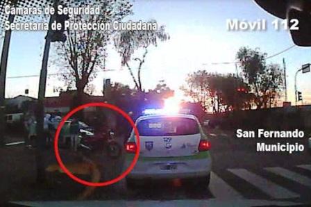 Dos Motochorros armados, fueron detenidos en San Fernando