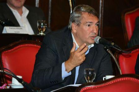 el Presidente del bloque de senadores del Frente Renovador, Jorge D´Onofrio