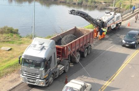 Bachean el Puente Guazú Nambí y otras arterias de Tigre