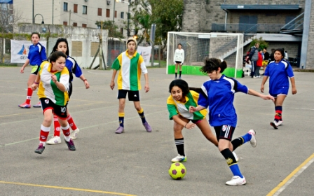 Jornada de Fútbol Femenino en el Polideportivo N°1 de San Fernando