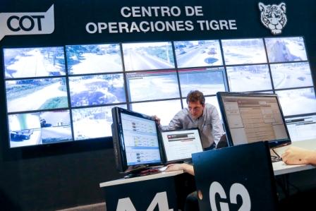 El diputado nacional Sergi Massa visitó el Centro de Operaciones Tigre