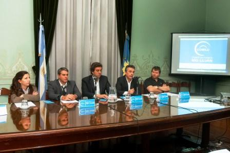 el diputado del Frente para la Victoria Alberto España presentó hoy un proyecto de ley para crear el comité de cuenca del Río Luján