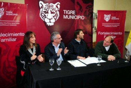 La Parroquia San Marcelo de Don Torcuato recibió un nuevo apoyo del Municipio de Tigre