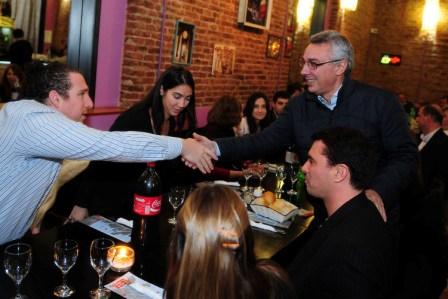 Julio Zamora se reunió con comerciantes de Rincón de Milberg