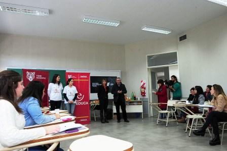Se incorporaron 40 nuevos becados al Programa Tigre Educa