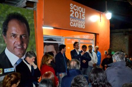 Cafiero inauguró la Unidad Básica SCIOLI 2015 del Bajo Boulogne