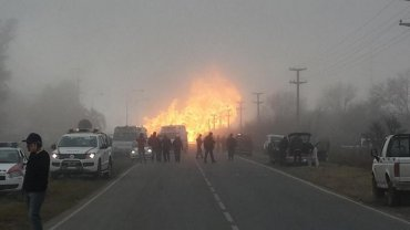 Al menos siete heridos por una explosión en una central eléctrica de la localidad cordobesa de Pilar