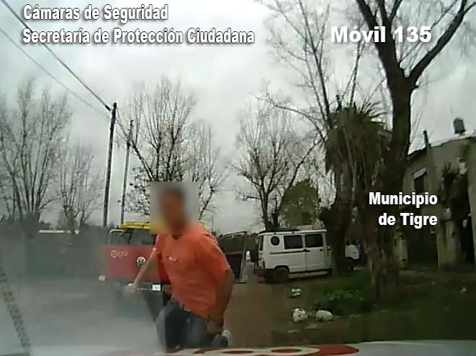 Detienen a un hombre tras robar una camioneta y volcar durante la huida en Don Torcuato