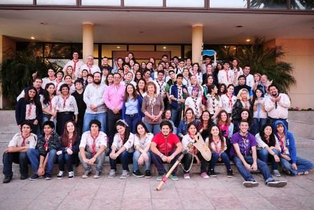 Tigre y los Scouts, juntos contra la violencia de género