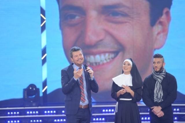 Marcelo Tinelli Organizó el casamiento de Cirio con Insaurralde