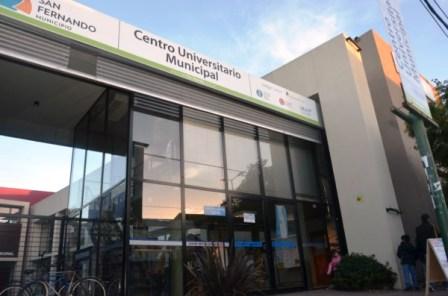 El Centro Universitario de San Fernando iniciará la inscripción a nuevas carreras en modalidad virtual