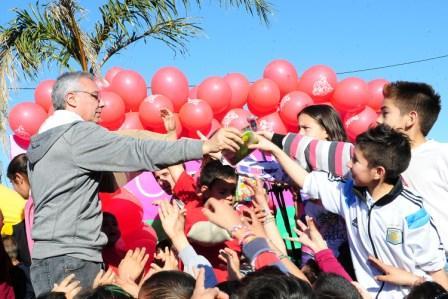 """Más de 10 mil vecinos vivieron el """"Día del Niño"""" en las plazas de Tigre"""