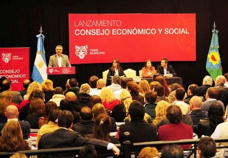 Tigre lanzó el Consejo Económico y Social
