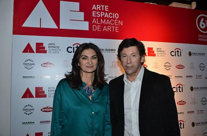 Se inauguró la sexta edición de arte espacio en San Isidro