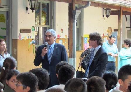 Santiago Montoya y Nicolás Scioli desarrollaron tareas de gestión en Tigre y San Isidro