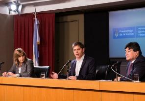 El ministro de Economía, Axel Kicillof, explicó que el proyecto de ley enviado al Congreso