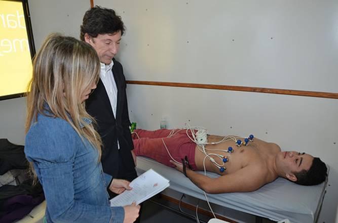 En San Isidro realizan exámenes cardiológicos gratuitos a deportistas