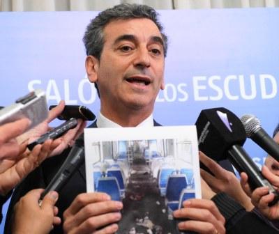 Florencio Randazzo, dijo hoy que denunciarán penalmente a dos delegados del ferrocarril Sarmiento