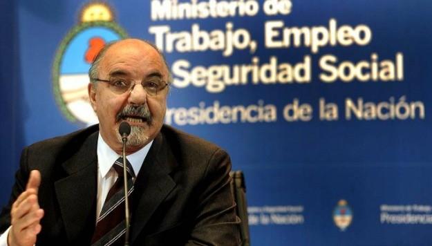 ministro de Trabajo, Carlos Tomada