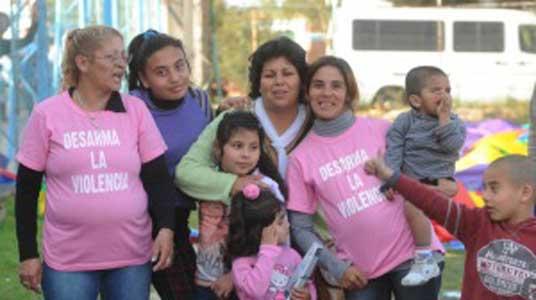 La campaña armas ni de juguete reunió 1.000 chicos en san fernando