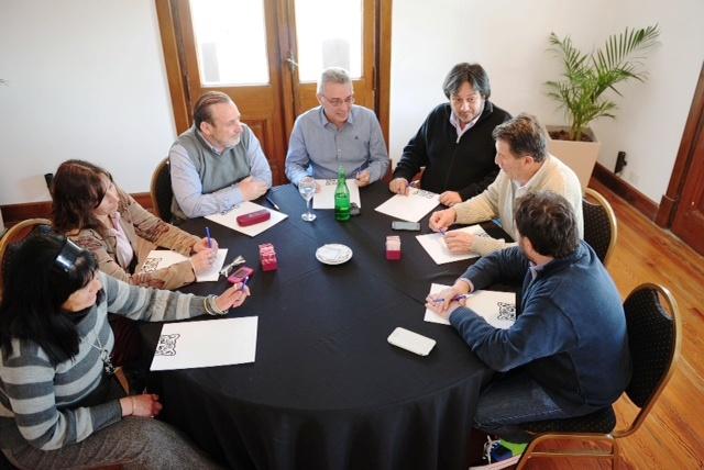 Julio Zamora se reunió con los Consejeros Escolares de Tigre