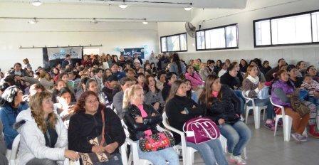 Gustavo Piantino encabezó los festejos por el primer año de Ellas Hacen en Tigre