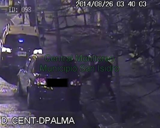 Detuvieron a dos delincuentes detectados por las cámaras de San Isidro