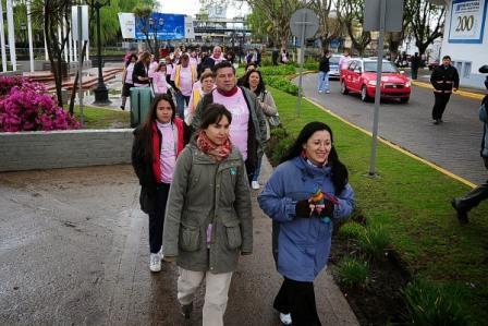 Tigre sede la segunda caminata internacional contra el cáncer femenino