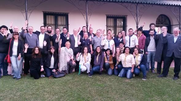 La Región Metropolitana Norte alzó su mano por la paz en San Isidro