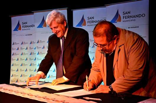 Más de 200 alumnos de San Fernando realizarán pasantías en diversas áreas del Municipio