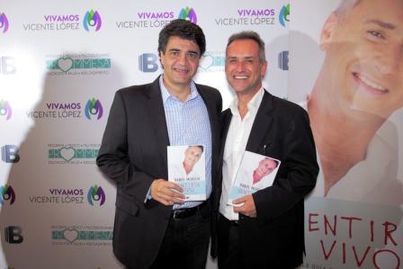 Daniel Meaglia presentó su nuevo libro en el Centro Municipal de Convenciones de Vicente López