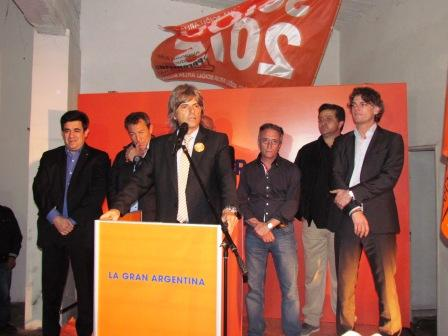 El Sciolismo inauguró su local partidario en San Fernando
