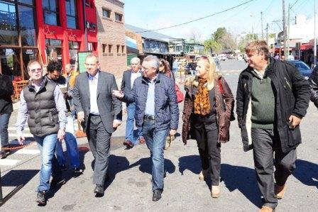 Julio Zamora recibió en Tigre a autoridades de San Luis