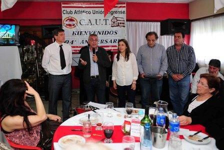 El Club Atlético Unión Tigrense festejó un nuevo aniversario