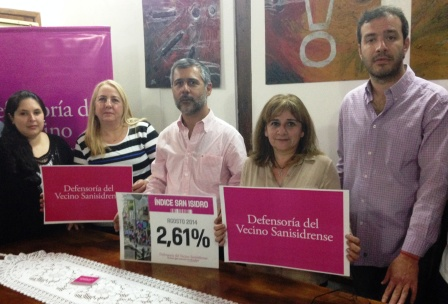 La inflación en San Isidro creció un 2.61%