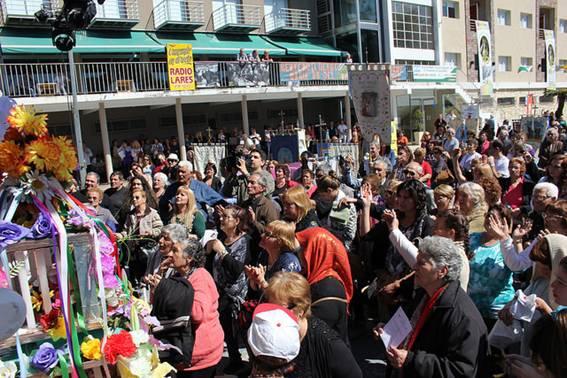Misa y festejos por la virgen del Pettoruto en San Isidro