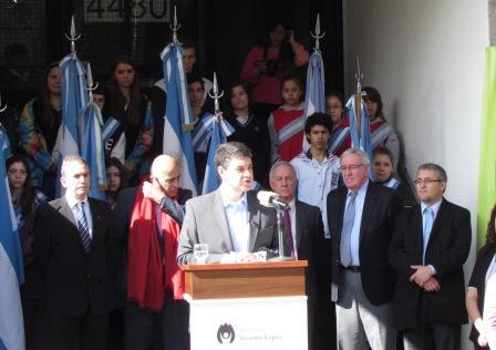 Jorge Macri presentó las obras del centro universitario de Vicente López