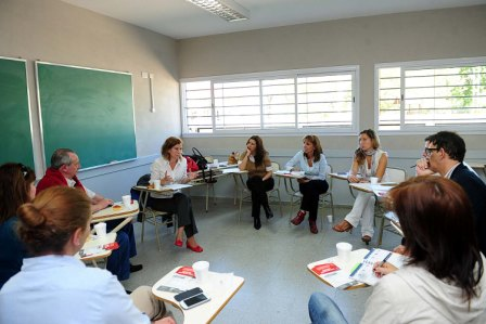 Encuentro entre el municipio de Tigre y escuelas de gestión privada