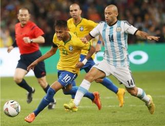Argentina no le encontró la vuelta y perdió con Brasil en China - Foto Télam