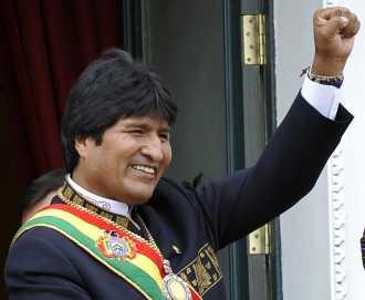 Bolivia reeligió a Evo Morales, que sacó más del 60 por ciento