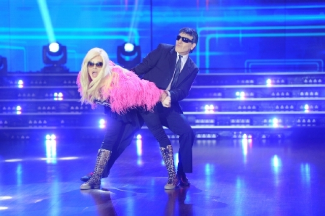 Susana Giménez y Mario Pergolini entraron pisando fuerte a la pista del bailando