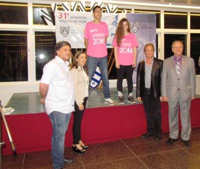 Se presentó oficialmente la 31° Maratón Ciudad de Tigre