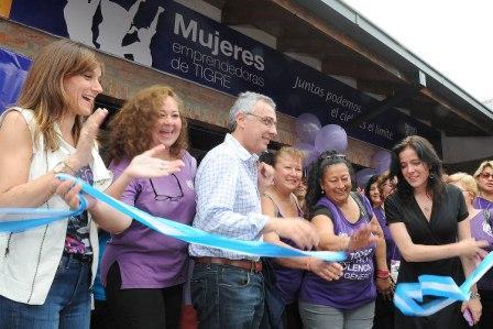 Nuevo local de Mujeres Emprendedoras en el Puerto de Frutos