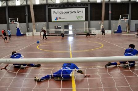 """Se disputó en San Fernando la """"Copa Argentina de Goalball"""", deporte paraolímpico para ciegos y disminuidos visuales"""